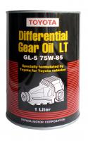 Масло трансмиссионное TOYOTA Genuine Differential Gear Oil LT 75W–85