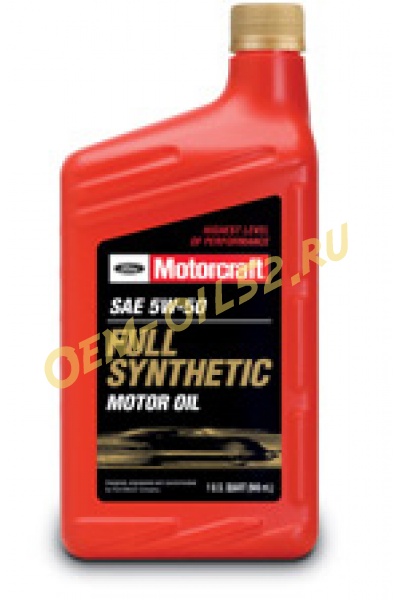 Motorcraft sae 5w 50 full synthetic motor for 5w 50 synthetic motor oil