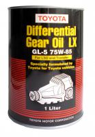 Масло трансмиссионное TOYOTA Genuine Differential Gear Oil LX (LSD) 75W–85